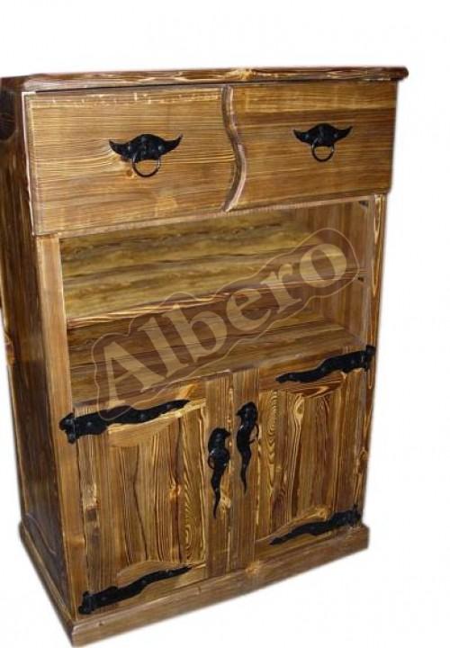 Шкаф из массива. Артикул: веб-00011