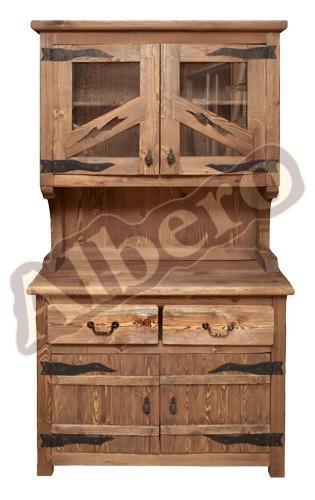 Кухонный гарнитур из массива дерева. Артикул: веб-00021