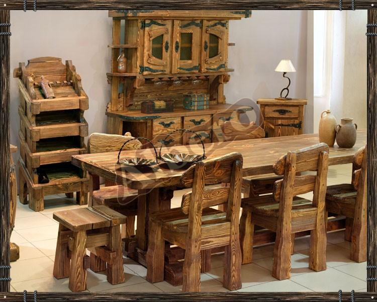 Кухня из массива дерева. Артикул: веб-00025