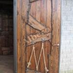 Дверь из массива дерева. Артикул: веб-00047