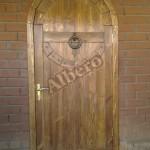 Дверь из массива дерева. Артикул: веб-00048