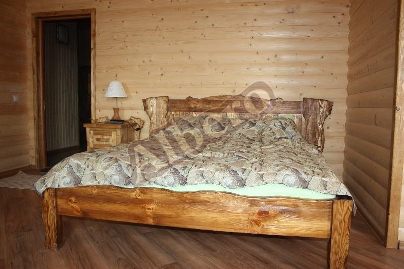 Кровать из массива. Артикул: веб-00093