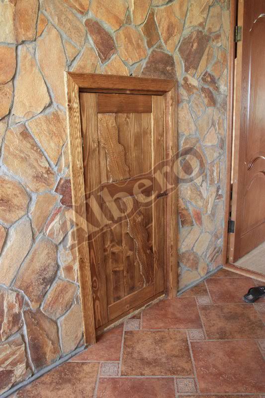 Дверь из массива. Артикул: веб-00089