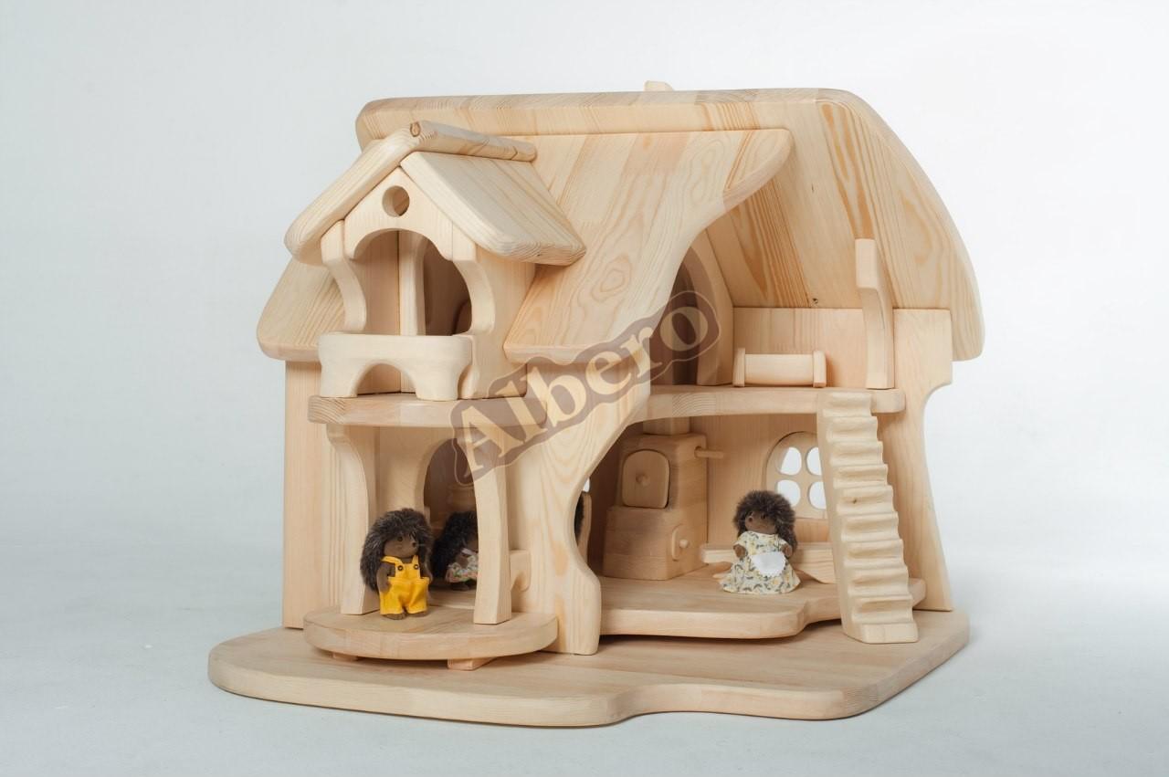 Чайные домики из дерева своими руками